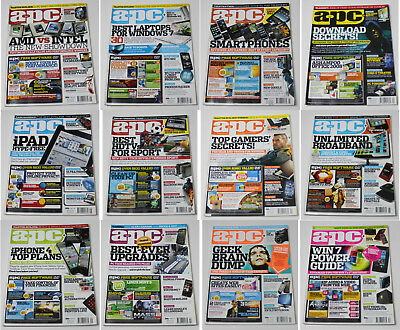 Australian Personal Computer (APC) Magazine (12 Issues from 2010)
