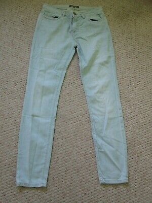 Limited Collection pale blue faded lightwash skinny stretch straight jeans 8