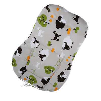 Baby Infant Trolley Stroller Pram Dining Chair Seat Liner Pad Cotton Cushion
