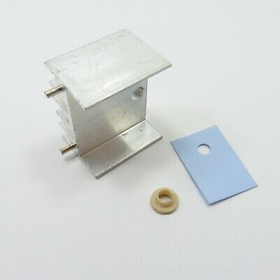 Aluminum Radiator with TO-220 Insulator Pads Bushing Washer Sheet Heatsink