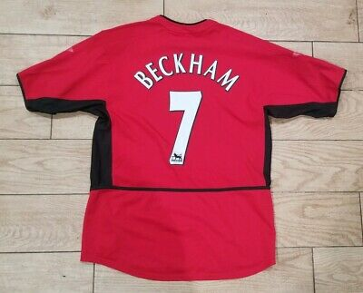cc6f760ba Vtg Nike Manchester United Vodafone Men's Team Jersey David Beckham M red  devils