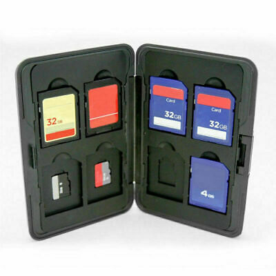Hard 8 Micro SD SDHC Memory Card Storage Carrying Case.Holdertector.DEKOR R4W6