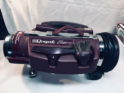 Vintage Royal Classic Vacuum Cleaner  4650 Power Team Canister Vacuum