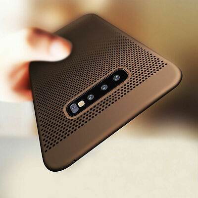 For Samsung Galaxy S10 Plus S10e Slim Luxury Leather Ultra Thin TPU Case Cover