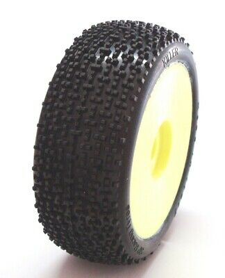 Gomme Tire 1/8 BUGGY SP RACING KILLER COMPETION M35 incollate SP088M35 (1cp)
