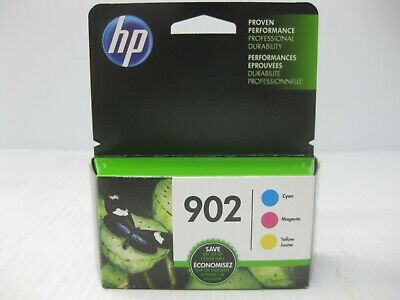 HP 902 Color Ink Set Genuine New *** SHIPS OVERBOXED *** Date: November 2019