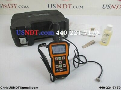 GE Inspection Technologies DM5E Ultrasonic Thickness Gauge NDT Flaw Olympus Gage