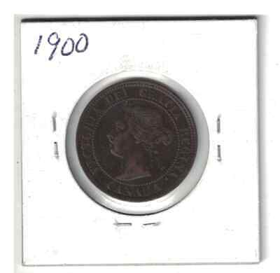 Canada 1900 1 cent Large Penny