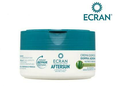 Ecran Aftersun Cream Aloe Vera Soothing Moisturising Repairing Lotion 200ml Pot