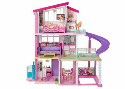 Barbie Dream House 3 Floors 8 Rooms 70+ Accessories NEW FREE SHIPPING