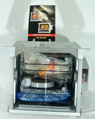 Ronco Showtime Chicken Rotisserie & BBQ Oven Platinum Edition 5000 Open Box