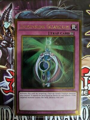 Gold Rare Dimension Guardian 1st Edition MVP1-ENG24
