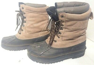 77711da9ae4 MENS ROCKY SNOW Winter Boots 1200 Grams Insulated Waterproof Size 13 ...