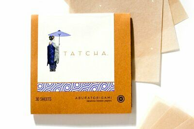 TATCHA ~ Aburatorigami Japanese Beauty Blotting Papers ~ 30 sheets ~ New