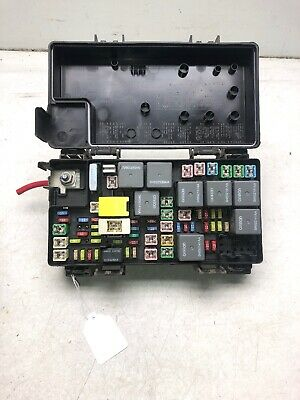 09 10 caravan journey tipm totally integrated power module fuse box oem  r4711