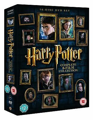 Harry Potter - Complete 8-Film Collection DVD New UNSEALED MINOR BOX WEAR