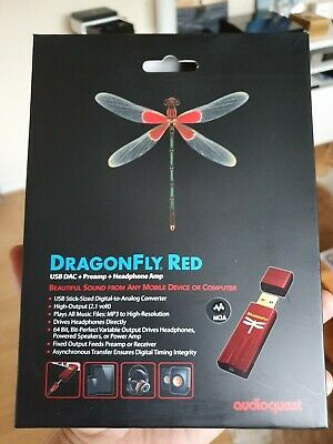 AudioQuest Dragonfly Red USB DAC & Headphone Amplifier