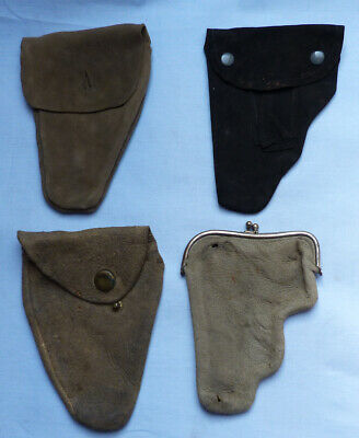 Set Of Four Late-19Th/Early 20Th Century American Ladies Handbag Pistol Holsters