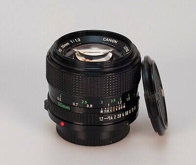 Canon new FD 50mm 1.2 N