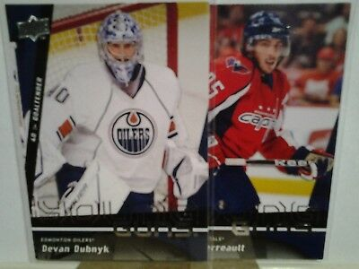 2009-10 UPPER DECK YOUNG GUNS series 1 & 2 you pick from list
