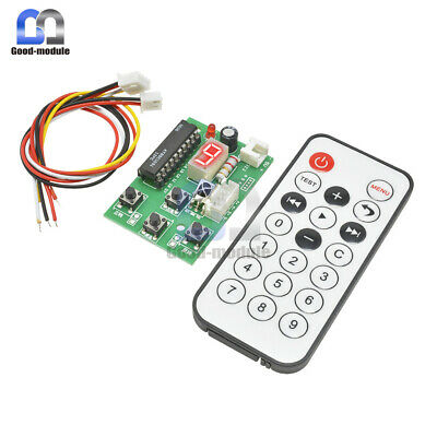 2-Stage 4-Wire Stepper Motor Driver Adjustable Speed Controller & Remote Control