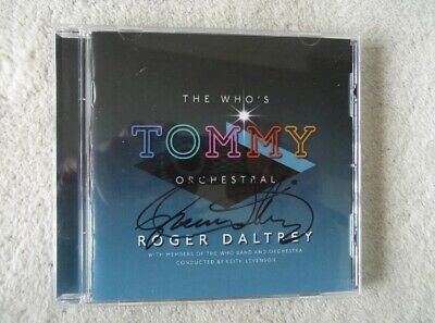 Roger Daltrey Signed The Who's Tommy Orchestral Cd Autographed Rare