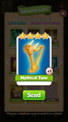 Coin Master Cards Mythical Tune