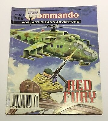 Commando War Comics #2944 - Red Fury - 1996
