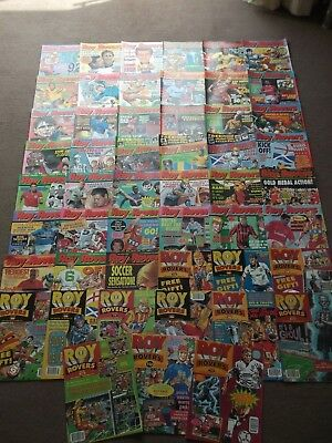 50 x ROY OF THE ROVERS from 1992 - Complete Year