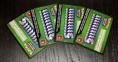 X4 Pokemon TCG Fates Collide Online Booster Pack UN-USED Codes *Ebay Message*