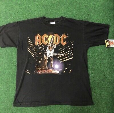 VTG 90s AC/DC Rock Tour Band Tee Rare Vintage Mens XL ACDC