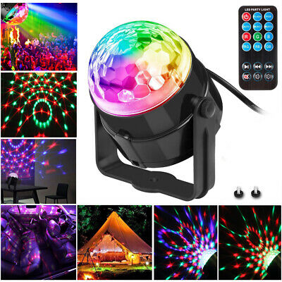 Laser Projector Sound Activated Stage Lamp Led Disco Light  Remote Control