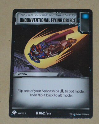 TRANSFORMERS TCG War For Cybertron Siege I | R 062 Unconventional Flying Object