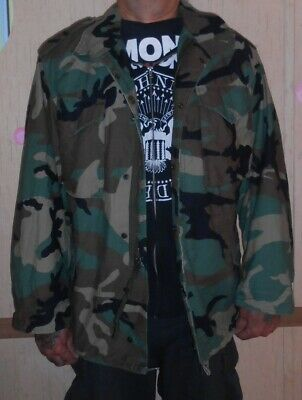 Field Jacket, M-65 Woodland Camo, Original 1999 Issue, Xl-R, Sweet Surplus!