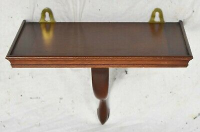 Kittinger Williamsburg Mahogany Wall Bracket Shelf