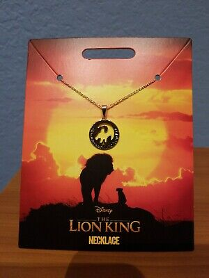 Disney Store The Lion King 2019 Film Necklace Remember Who Are You New w Card