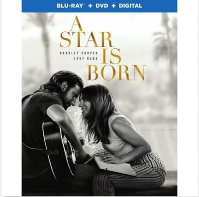 Star Is Born, A [2018] (Blu-ray+DVD+Digital, 2019) NEW with Slipcover