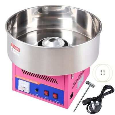 Electric Cotton Candy Machine Sugar Floss Commercial Maker Party Carnival x1