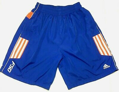 VTG Adidas Blue Board Shorts, Swimming Trunks 3 Stripes, Size Adult S, Youth XL