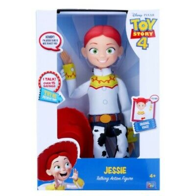 "Toy Story 4 Cowgirl Jessie 14"" Doll Action Figure"
