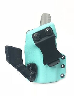 Tiffany Blue & Light Grey Kydex Iwb / Appendix Carry Holster - Choose Model