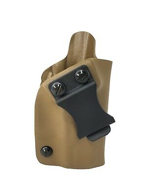 Coyote Brown Kydex Iwb / Appendix Carry Holster- Right/Left Handed- Choose Model