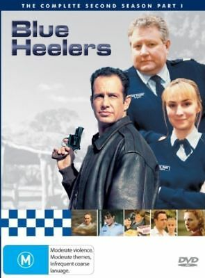 Blue Heelers : Season 2 Two : Part 1 (DVD : 5-Disc Set) OVER 14 HOURS !!
