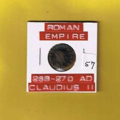 "Ancient Roman Empire coin of ""Claudius II""  A.D. 268-270 ... AE antoninianus"