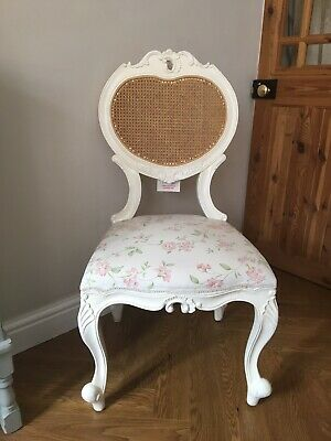 Stunning Louis XV Bedroom Chair Rattan Back French Vintage Style Rococo
