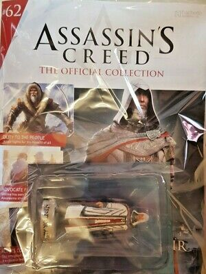 Assassins Creed Official. Model Collection = # 62 = Mentor Altair