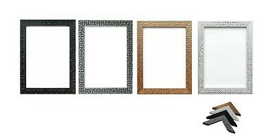 Flat  Bright/Mirror effect/ Mosaic Picture/Photo frame  A4  A3