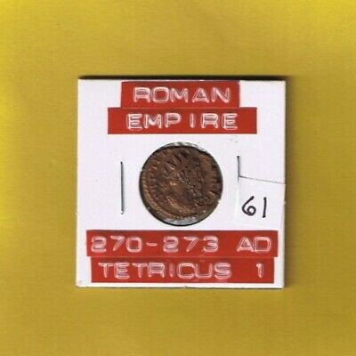 "Ancient Roman Empire coin of ""Tetricus I"" 270-273 AD... AE antoninianus ........"
