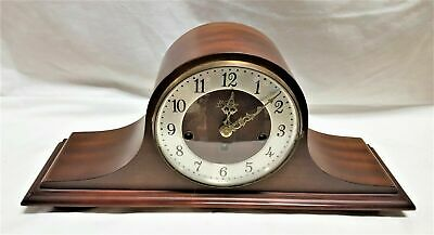Vintage Chiming Mantel Clock - Welby Div Elgin - Germany - Works!    CT