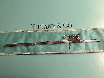 TIffany & Co. Monkey Drinking Straw Sterling Silver Vintage Rare no longer sold